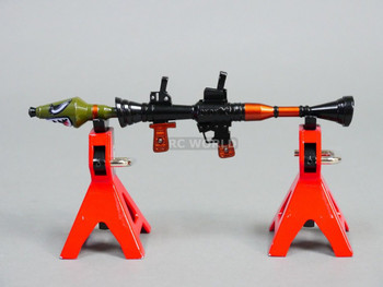 1/8 Scale Accessories RPG Shoulder ROCKET LAUNCHER Metal Gun Model