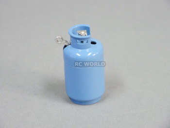 RC 1/10 Scale Accessories PROPANE GAS TANK BLUE