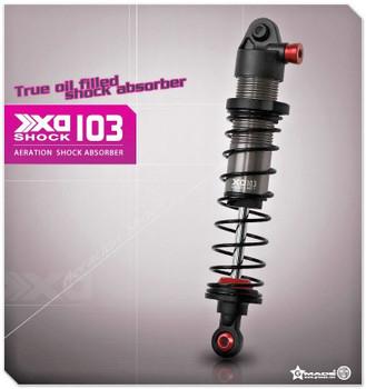 Gmade 1/10 TRUCK Shocks SUSPENSION AERATION Aluminum 103MM #gm21407