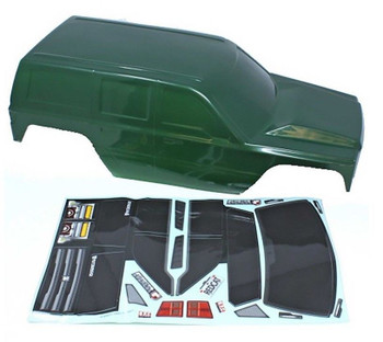 1/10 RC Truck CRAWLER Body SHELL Finished Red Cat EVEREST GEN7 Body GREEN