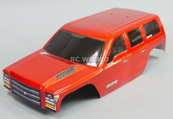 1/10 RC Truck CRAWLER Body SHELL Painted + Finished Red Cat EVEREST GEN7 Orange