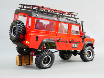 RC 1/10 Scale Land Rover DEFENDER 110 WAGON W/ Interior D110