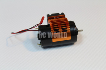 RC 1/10 LARGE 550 Motor RC TRUCK Rock Crawler 10T High TORQUE + FAN Heat Sink