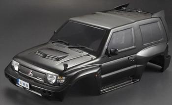 RC Truck Body Shell 1/10 MITSUBISHI PAJERO EVO -PAINTED- BLACK