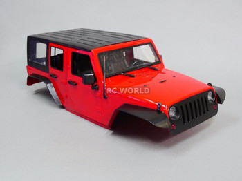 RC Scale 1/10 JEEP WRANGLER RUBICON Hard Body