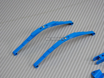 RC Scale 1/10 LEAF SPRINGS SET For Crawlers Tamiya HighLift Chassis BLUE
