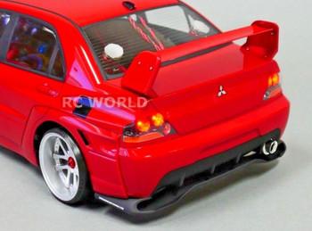 1/10 RC Car Chrome LIGHT BUCKETS For MITSUBISHI EVO 9 Evolution