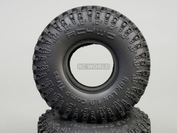 RCWD 1/10 Scale Truck TIRES ROK LOX COMP 1.9 Rock Crawler TIRES 115mm (2 PCS)