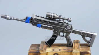 1/8 EPIC ASSAULT RIFLE W/ SCOPE Metal GUN  Weapon
