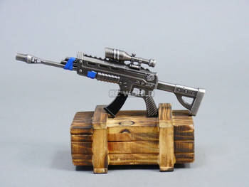 1/8 EPIC ASSAULT RIFLE W/ SCOPE Metal GUN  Weapon