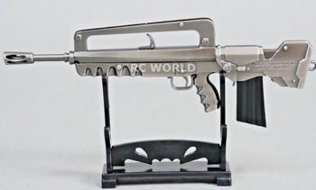 1/8 BURST ASSAULT RIFLE GUN  Metal GUN  Weapon