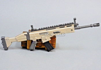 1/6 scale diecast SCAR Automatic Assault Rifle Model