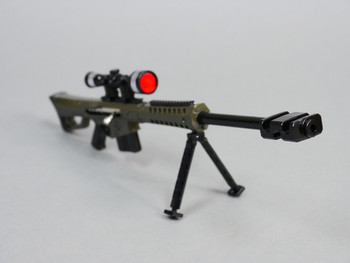 1/6 Large BARRETT M82A SNIPER RIFLE 50.Cal Metal Scale Weapon