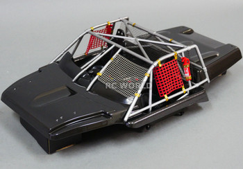 1/10 Scale Interior Cockpit w/ Roll Cage For Short Course - Finished