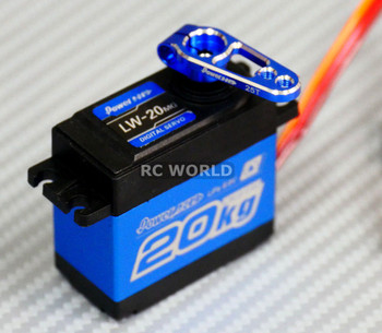 WATERPROOF HighTorque METAL Gear DIGITAL SERVO 20KG For RC Trucks + METAL HORN