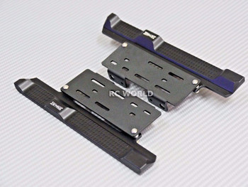 Axial SCX10 II Side Step Running Boards Black