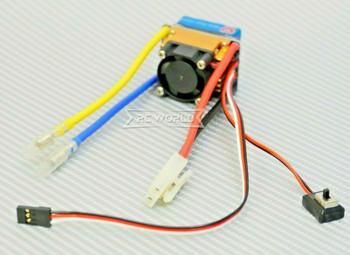 1/10 ESC W/ FAN 40AMP LIPO NiMH Electronic Speed Control W/ Tamiya Plug F/B/R