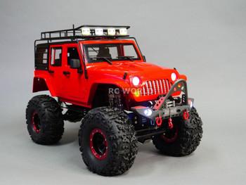 RC Jeep Wrangler Crawler 2.2 Scale Accessories.