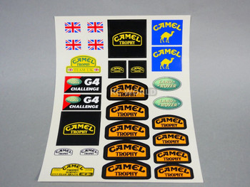 RC Land Rover Camel Trophy Decals