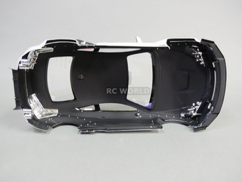 1/10 RC BODY Shell LEXUS RC F ROCKET BUNNY Wide Body SHELL -WHITE- -FINISHED