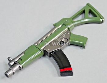 1/8 Scale Accessories Heckler & Koch SUB MACHINE GUN All Metal Weapon