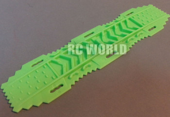 AXIAL SCX10 Jeep Deadbolt Scale RECOVERY RAMPS Extraction LADDER Green
