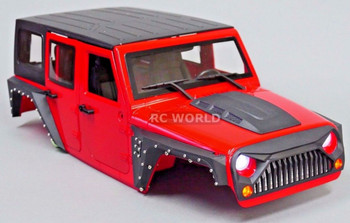 Rc Jeep Wrangler Hard Body.