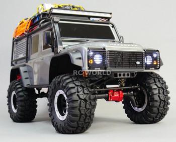 traxxas trx4 defender suspension upgrade