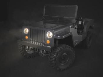 RC Jeep Body LIGHT BUCKETS Gmade SawBack MILITARY JEEP LED HOUSING #GM49007