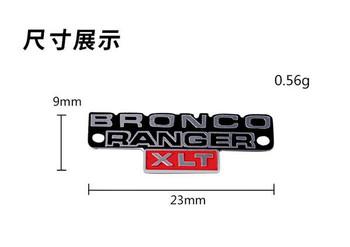 1/10 METAL 3D BRONCO RANGER Logo Badge For Traxxas TRX -4 Bronco (2)