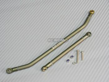 SMT10 Gun Metal Steering Links For Axial.
