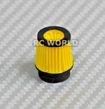 RC Scale Engine Accessories Yellow Cone.