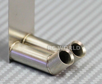 RC Scale Metal exhaust Muffler for Radio Control.