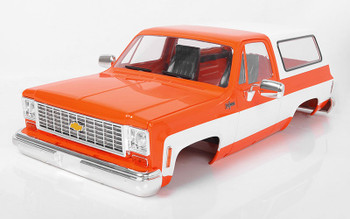 RC Chevrolet Blazer K5 Hard Body Orange