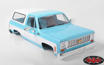 RC4WD  Blazer K5 Hard Body Blue
