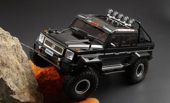 RC Rock Crawler body shell Horribull.
