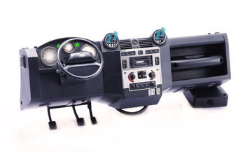 1/10 scale working Dashboard W/ Air vents