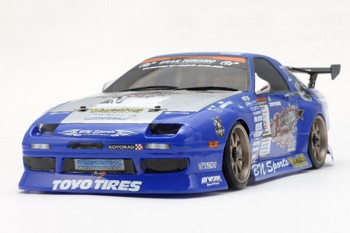 Yokomo 1/10 RC Car Body MAZDA RX7 Team Samurai Project FC3S 190mm SD-TSFCSA