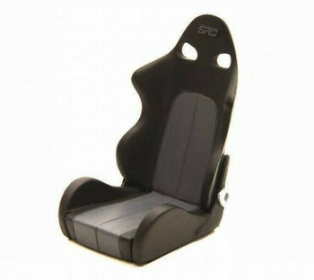 RC 1/10 Scale black racing seat