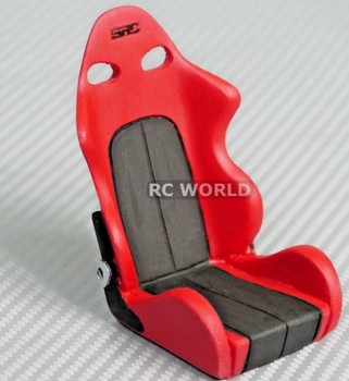 1/10 rc racing bucket seat Red