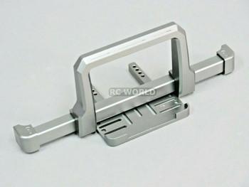 Traxxas TRX-4 upgrades DEFENDER FRONT METAL Bumper BULL NOSE Gun Metal