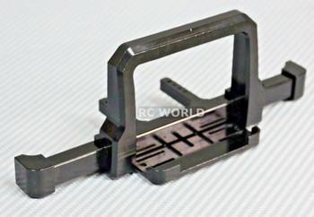 Traxxas TRX-4 upgrades DEFENDER FRONT METAL Bumper BULL NOSE Black