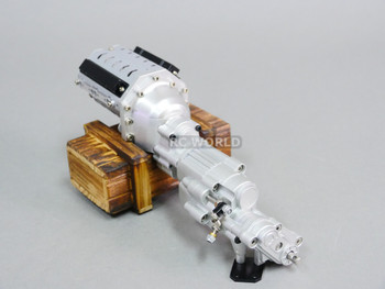 Axial SCX-10II Metal 2 SPEED Gearbox TRANSMISSION