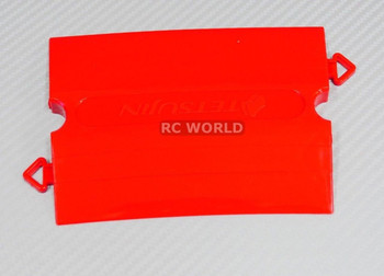 Rc TRACK PARTS 10 Degree Corner RED Tetsujin Kerbs