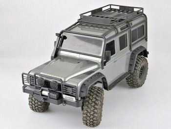 Traxxas TRX-4 Defender BUMPER SET w/ Winch + Rear Bumper BLACK