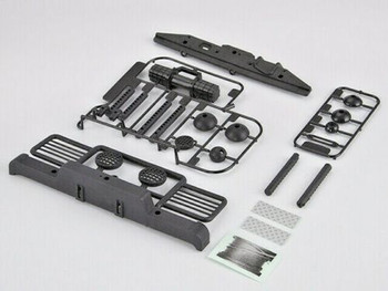 Traxxas TRX-4 Defender BUMPER SET w/ Winch + Rear Bumper