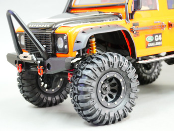 Traxxas TRX-4 Defender Beadlock Wheels & TIres 130mm
