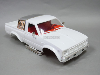 1/10 Toyota Pickup Truck Hard Body Shell White