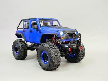 Custom Scale 1/10 RC JEEP WRANGLER RUBICON 4X4 2-Speed Rock Crawler 11.1V *RTR*