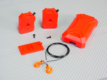 RC 1/10 Scale Accessories  Fuel Tanks + Storage + Wire Hooks